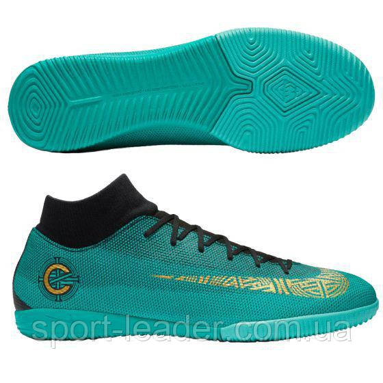 7f5994a1 Обувь для зала Nike MercurialX SuperflyX 6 Academy CR7 IC AJ3567-390 -  Sport-