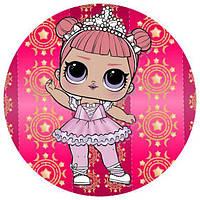 Куклы лол 1 Вафельная картинка