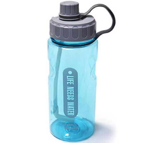 Бутылка для воды Fissman #1 1200 мл голубая