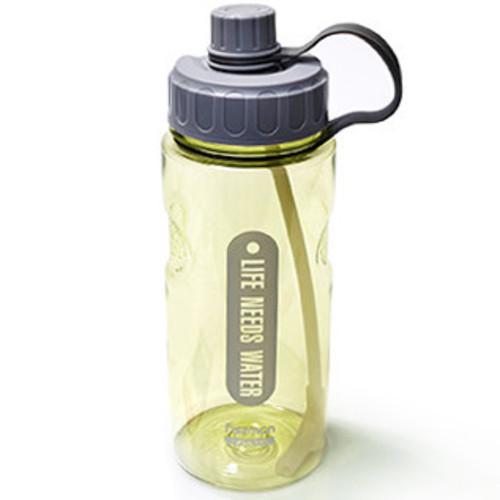 Бутылка для воды Fissman #1 1200 мл желтая