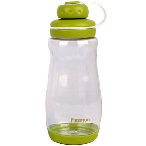 Бутылка для воды Fissman #3 370 мл зеленая