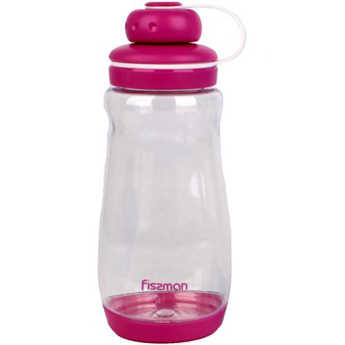 Бутылка для воды Fissman #3 370 мл розовая