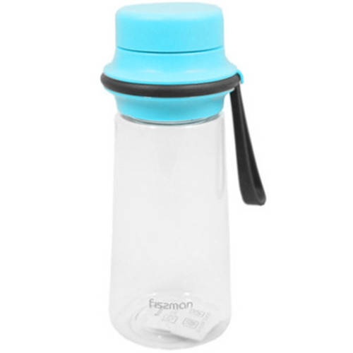 Бутылка для воды Fissman #6 500 мл голубая
