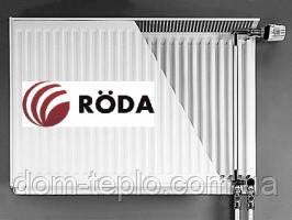 Радиатор стальной Roda RSR VK 500х800 ➔ 22 ТИП ➔Нижние подсоединение