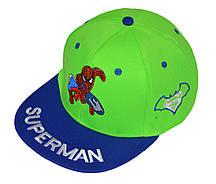Кепка реперка со спайдерменом для мальчика