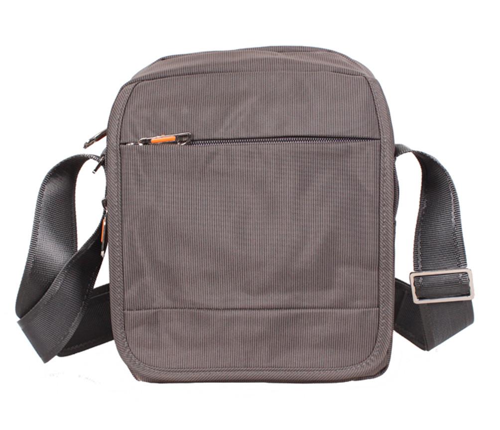 Мужская текстильная сумка M231-22 серая