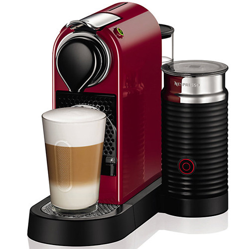 Кофемашина Nespresso CitiZ and Milk Red