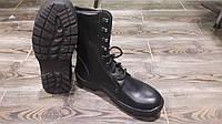 Ботинки тактические из натуральной кожи черные от производителя