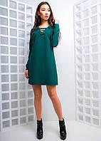 Свободное платье со шнуровкой, фото 1