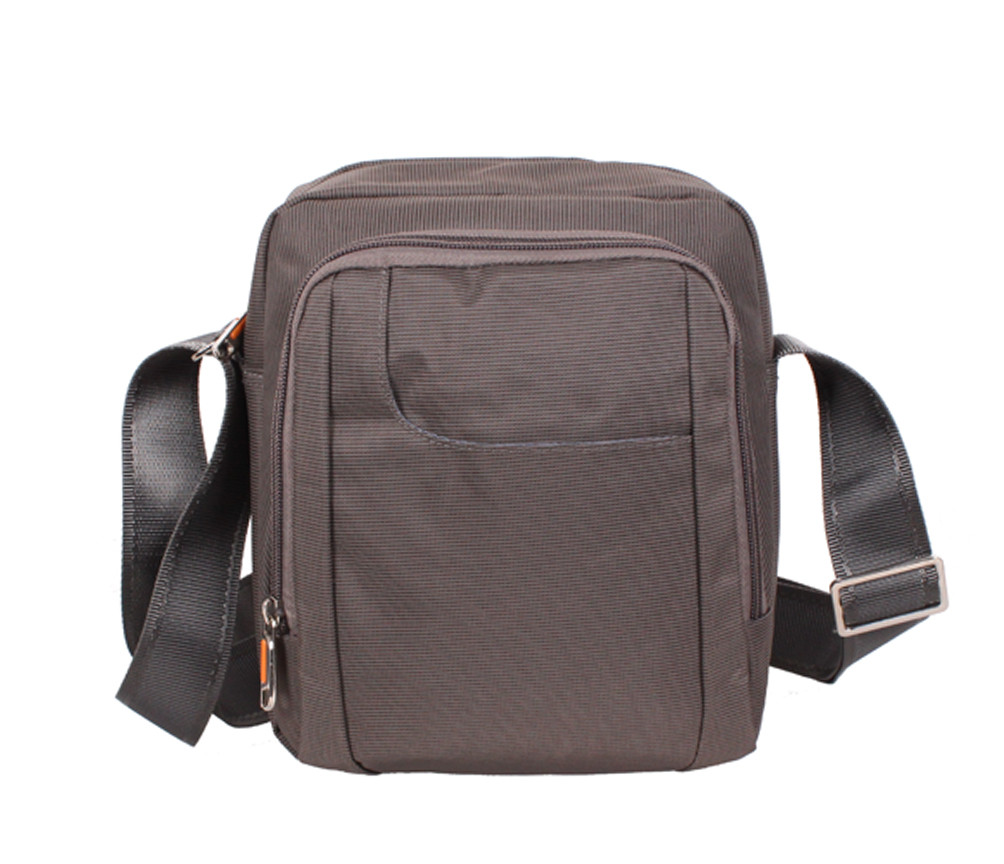 Мужская текстильная сумка M242-2222 серая