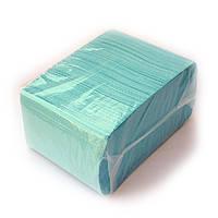 Стоматологический нагрудник - бирюзовый, 500 шт