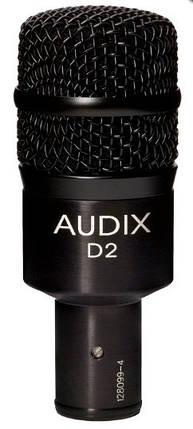 Динамічний інструментальний мікрофон AUDIX D2 для підвісних томів, підлогових томів, конга і горнів, фото 2
