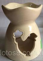 Керамическая арома чаша.