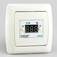Терморегулятор для теплого пола цифровой для скрытой проводки (0°...+90°, реле 16А) РТА-16/CARMEN-NTC