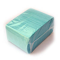 Стоматологический нагрудник - бирюзовый, 500 шт, фото 1