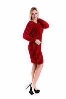 Платье Дебора красный