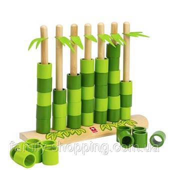 """Деревянный набор игра из бамбука """"Quattro"""""""