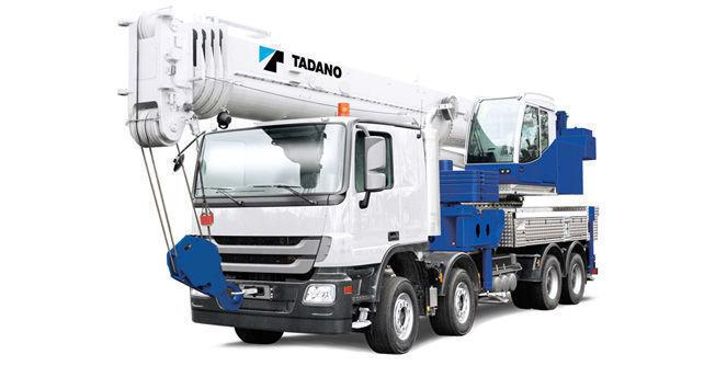 Автокран TADANO ATF50G-9
