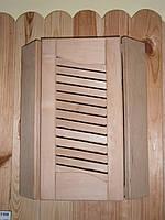 Ограждение для светильника в баню и сауну угловое (ольха)