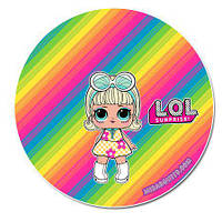 Куклы лол 3 Вафельная картинка