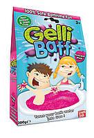 Желе снег для ванны Gelli Baff Розовый, 300г