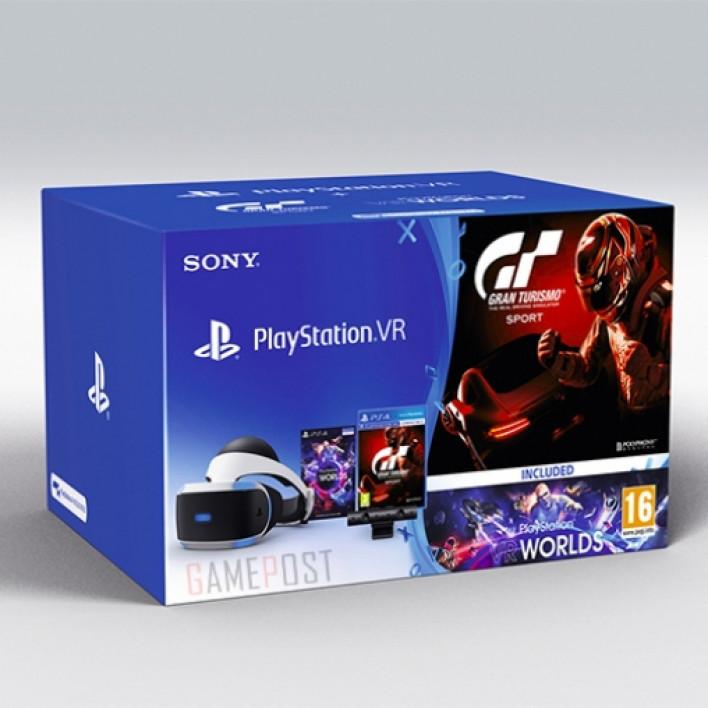 PlayStation VR (Camera+GTSport +VR Worlds)