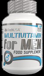 Витамины для мужчин BioTech USA Multivitamin for Men 60t