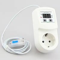 Измеритель регулятор влажности (гигрометр) для инкубатора в корпусе переходника (16А/3кВт) РВ-16/П, фото 1