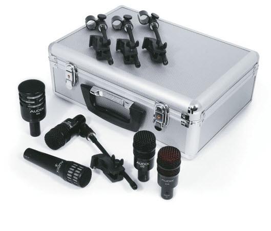Набор из 5 микрофонов для барабанной установки AUDIX DP5a
