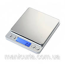 Весы электронные ювелирные серебристые, 3000 г