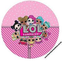 Куклы лол 22 Вафельная картинка