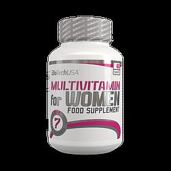 Витамины для женщин BioTech USA Multivitamin for Women 60t