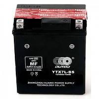 Акумулятор мото Champion 7 Ah YTX7L-BS (0)(Сухозаряджений)/(8х)