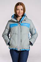 Распродажа женская куртка - пуховик Avecs серая, фото 1