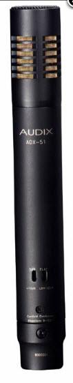 Пре-поляризованый конденсаторный микрофон AUDIX ADX-51