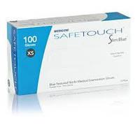 Перчатки нитриловые MEDICOM SAFETOUCH Slim Blue XS, фото 1