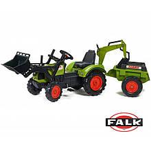 Педальний Трактор з двома ковшами Falk 2070Y