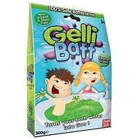 Желе снег для ванны Gelli Baff Зеленый, 300г