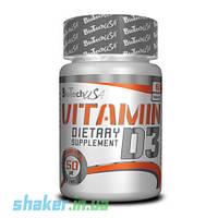 Витамины BioTech Vitamin D3 (60 таб) биотек биотеч д3