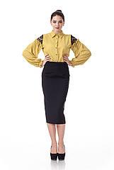 Классическая юбка карандаш. Ю065
