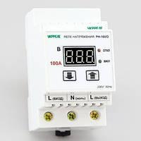 Реле напряжения, реле контроля напряжения (100А/22кВт) РН-100/D, фото 1