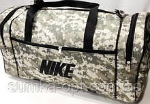 Військові дорожні сумки камуфляж Nike (хакі)27*53