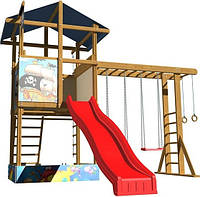 Детская игровая площадка для дачи Baby-14