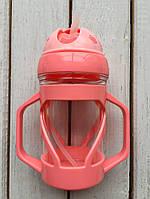 Поильник-чашка  300 мл Розовый, фото 1