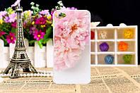 Эксклюзивный силиконовый чехол с картинкой на Xiaomi Redmi Note 5a розовые цветы