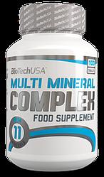 Вітаміни BioTech USA Multi Mineral Complex 100t