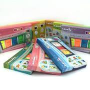 Витражные краски детские тематические наборы