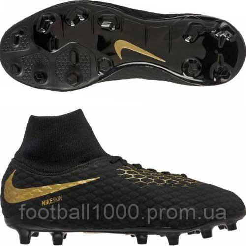 a7dbc0ca1a02 Детские футбольные бутсы Nike Hypervenom Phantom 3 Academy DF FG Junior  AH7287-090