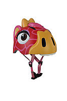 Защитный шлем Crazy Safety Красный Жираф