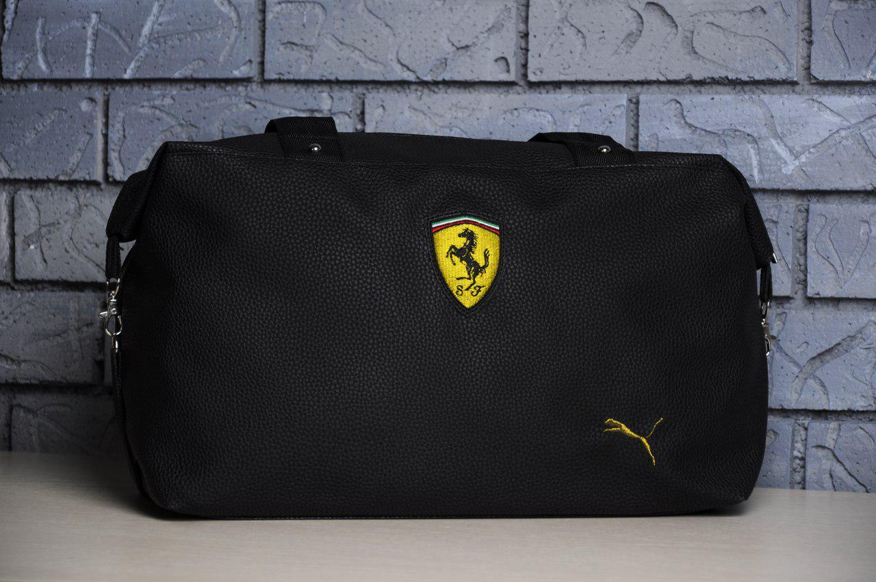bd9c584cf2c9 Женская спортивная/дорожная сумка для тренировок пума феррари (Puma)